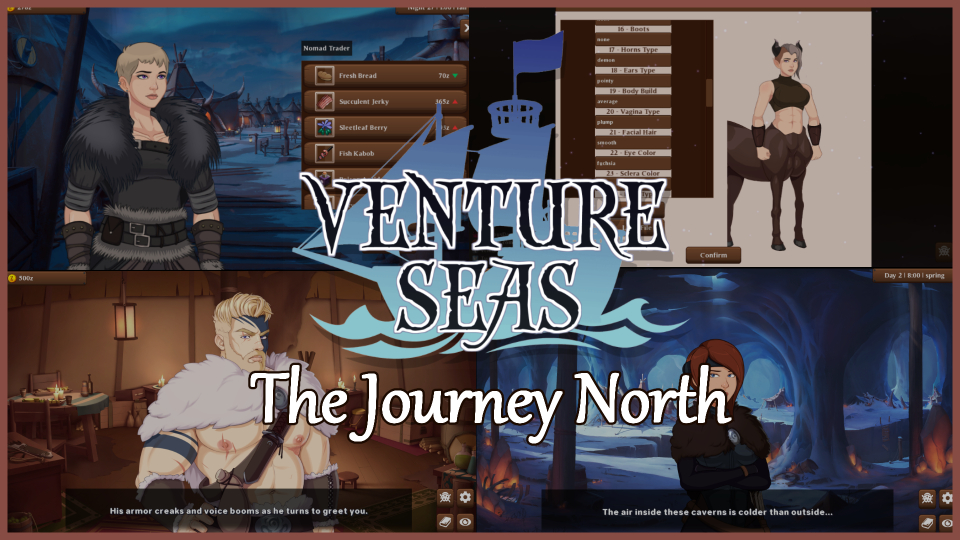 Venture Seas - Build Release - The Journey North